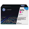 C9723A (HP 641A) Toner Cartridge, 8000 Page-Yield, Magenta