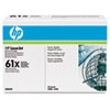 C8061D (HP 61D) Toner Cartridge, 10000 Page-Yield, 2/Box, Black