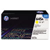 C9732A (HP-645A) Toner Cartridge, 12000 Page-Yield, Yellow
