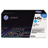C9731A (HP-645A) Toner Cartridge, 12000 Page-Yield, Cyan