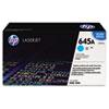 C9731A (HP-645A) Toner Cartridge, 12000 Page-Yield, Cyan