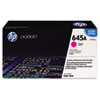 C9733A (HP 645A) Toner Cartridge, 12000 Page-Yield, Magenta