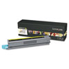 X925H2YG High-Yield Toner, 7,500 Page-Yield, Yellow
