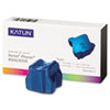 KAT37983 Phaser 8500 Compatible, 108R00669 Solid Ink, 3000 Yld, 3/Box, Cyan