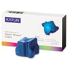KAT37975 C2424 Compatible, 108R00660 Solid Ink, 3400 Yield, 3/Box, Cyan