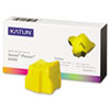 KAT38706 Phaser 8400 Compatible, 108R00607 Solid Ink, 3400 Yld, 3/Box, Yellow