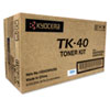 TK40 Toner, 9,000 Page-Yield, Black