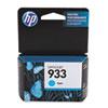 CN058AN140 (HP 933) Ink Cartridge, 330 Page Yield Cyan