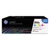 CF340A (HP 340A)toner , 2,300 Page-Yield, Cyan, Magenta, Yellow, 3 toner /Pack
