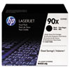 CE390XD High-Yield Toner, 24,000 Page-Yield, Black 2/Pk