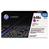 CE263A (HP 648A) Toner Cartridge, 11,000 Page-Yield, Magenta Cartridge