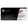 CE343A, 651A, Toner, 16002 Page-Yield, Magenta