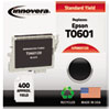 860120 Compatible, Remanufactured, T060120 Ink, 400 Page-Yield, Black