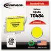 848420 Compatible, Remanufactured, T048420 Ink, 430 Page-Yield, Yellow