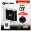 20051 Compatible, Remanufactured, LC51BK Ink, 500 Page-Yield, Black