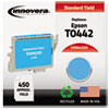 844220 Compatible, Remanufactured, T044220 Ink, 450 Page-Yield, Cyan