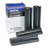 PC204RF Thermal Transfer Refill Roll, Black, 4/Pack
