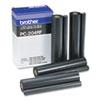 PC204RF Thermal Transfer Refill Roll, Black, 4/Pack
