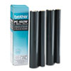 PC402RF Thermal Transfer Refill Rolls, Black, 2/Pack