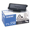 TN550 Toner, 3500 Page-Yield, Black