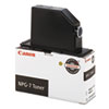 NPG7 (NPG-7) Toner, 10000 Page-Yield, Black