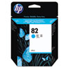 C4911A (HP 82) Ink Cartridge, 69mL, Cyan