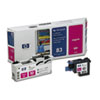 C4962A (HP 83) UV Printhead & Cleaner, UV Magenta