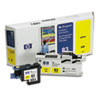 C4963A (HP 83) UV Printhead & Cleaner, UV Yellow