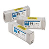 C9482A (HP 91) Ink Cartridge, 3/Pack, Light Gray
