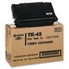 TK45 Toner, 12000 Page-Yield, Black