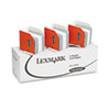 Staples for Lexmark W810, 820, and 830 Printers, Three Packs of 5,000 Each
