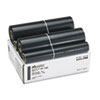 PF155 Film Rolls for F60/F65/More, Black, 2/Pack