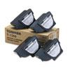 T1350 Toner, 4300 Page-Yield, 4/Carton, Black