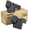 T2500 Toner, 7500 Page-Yield, 2/Carton, Black
