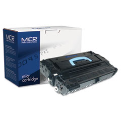 43XM Compatible High-Yield MICR Toner, 30000 Page-Yield, Black