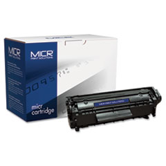 12AM Compatible MICR Toner, 2000 Page-Yield, Black