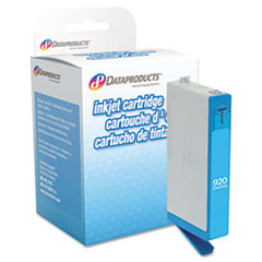 DPC634AN Remanufactured Ink, 400 Page-Yield, Cyan