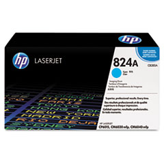 CB385A (HP 824A) Imaging Drum, 23,000 Page-Yield, Cyan