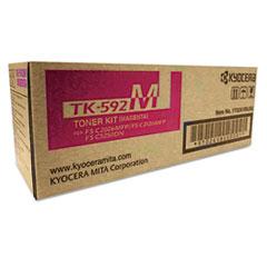 TK592M Toner, 5,000 Page-Yield, Magenta