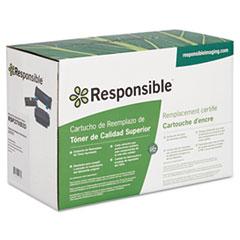 27XBIO BioBlack Compatible Reman High-Yield Toner, 10,000 Page-Yield, Black