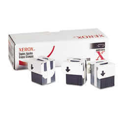 Staples for Xerox WORKCENTRE PRO123/M24/Others, 3 Cartridges, 15,000 Staples
