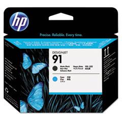 C9460A (HP 91) Printhead, Matte Black/Cyan