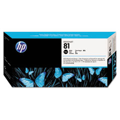 C4950A (HP 81) Printhead & Cleaner, Black