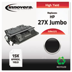 4127J Compatible, Remanufactured, C4127X(J) (27J)  Toner, 14000 Yield, Black