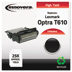 83845 Compatible, Remanufactured, 12A5745 (T610) Toner, 25000 Yield, Black