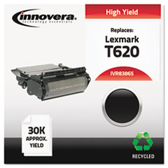 83865 Compatible, Remanufactured, 12A6765 (T620) Toner, 30000 Yield, Black