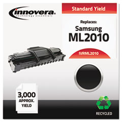 ML2010 Compatible, Remanufactured, ML-2010D3 Laser Toner, 3000 Yield, Black