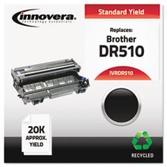 DR510 Compatible, Remanufactured, DR510 Drum Unit, 20000 Page-Yield, Black