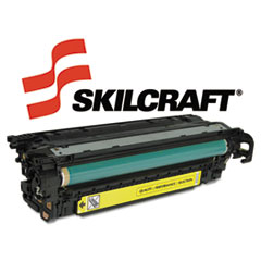 751000NSH0981 Compatible Reman CE252A (504A) Toner, 7000 Page-Yield, Yellow