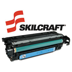 751000NSH0980 Compatible Reman CE251A (504A) Toner, 7000 Page-Yield, Cyan